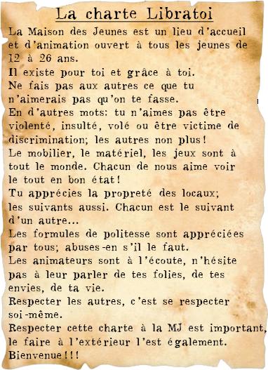 Mj Libratoi Accueil