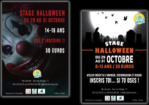 stage halloween Facebook